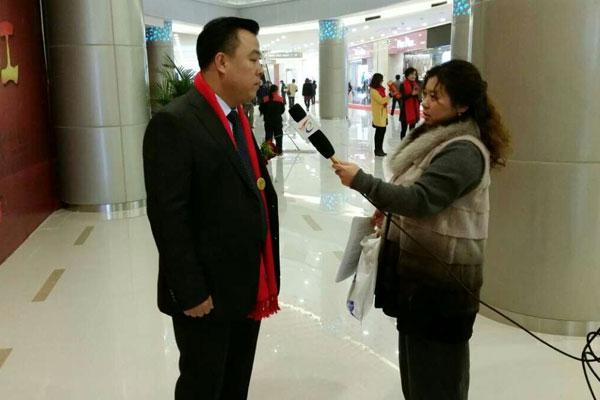 万宝财富商业广场开业吴江日报专访总裁赵海英