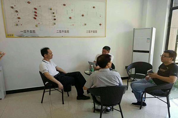 海汇盛景·抚州项目新态丨抚州市政协主席黄晓波先生莅临抚州美食城调研考察、指导工作
