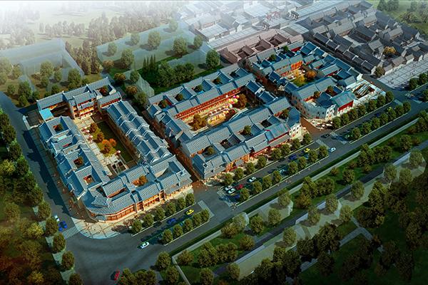 热烈祝贺北京海汇盛景签约中国·大同潘家园项目 携手大同叶茂共同打造大型文旅新地标